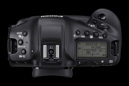 canon 1dx mark iii top