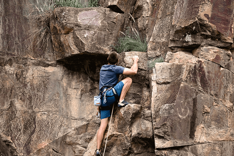 rock climber taken with the nikon d 780 dslr camera