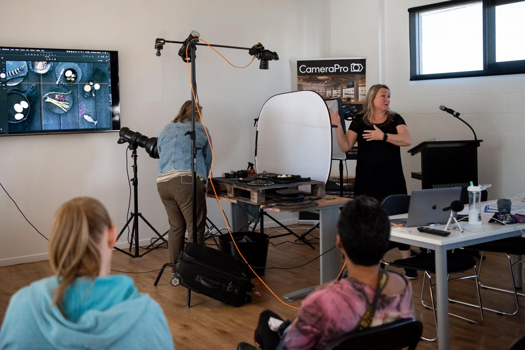 food photography seminar with nadine shaw
