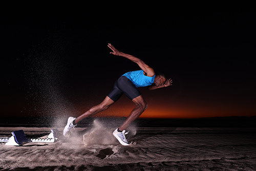 man running taken with canon 1dx mark iii