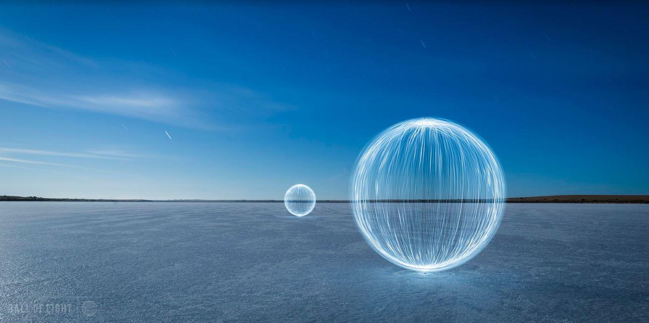 light ball photography