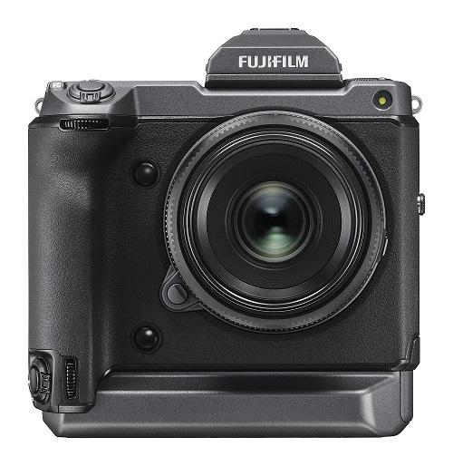fujifilm gfx100 front