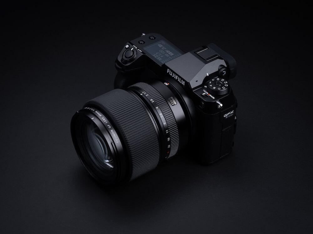 The GFX50S Mk II camera