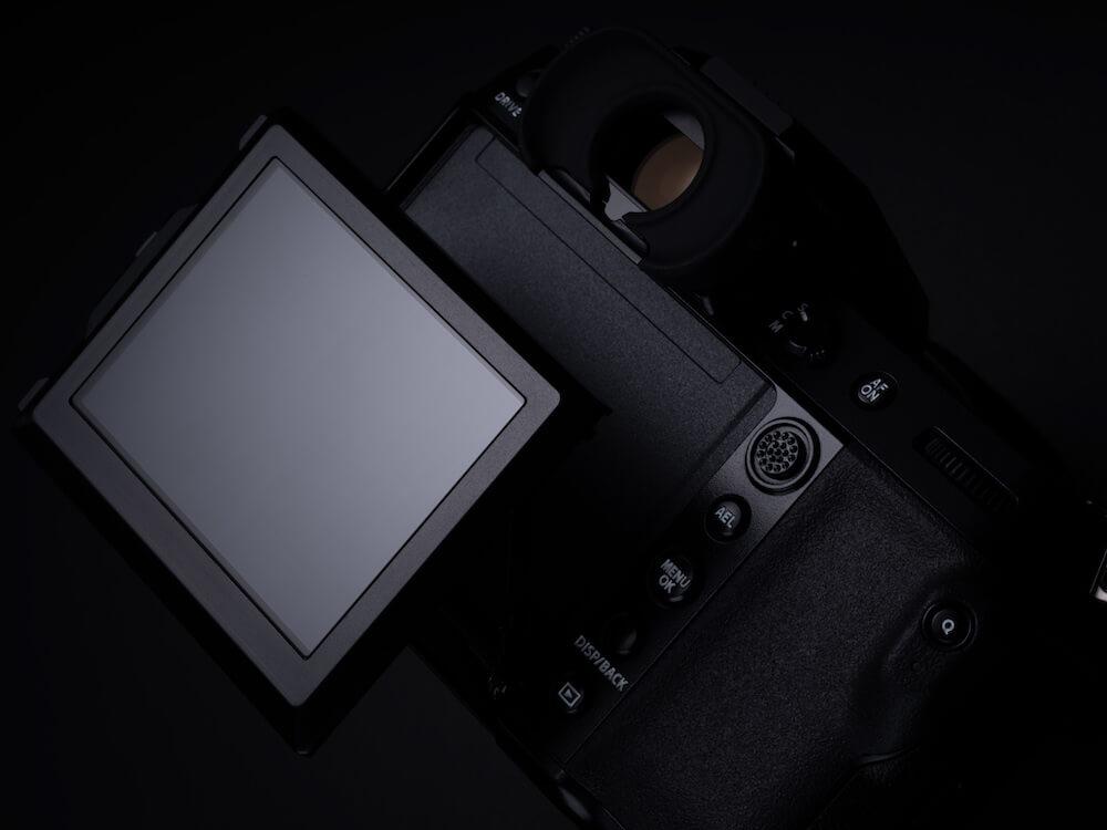 LCD of the GFX50S Mk II camera