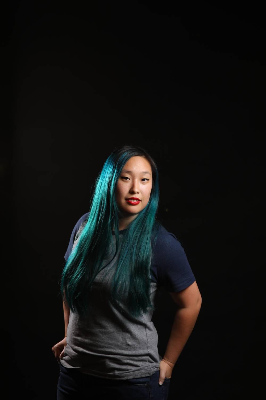 female model - solving common lighting issues