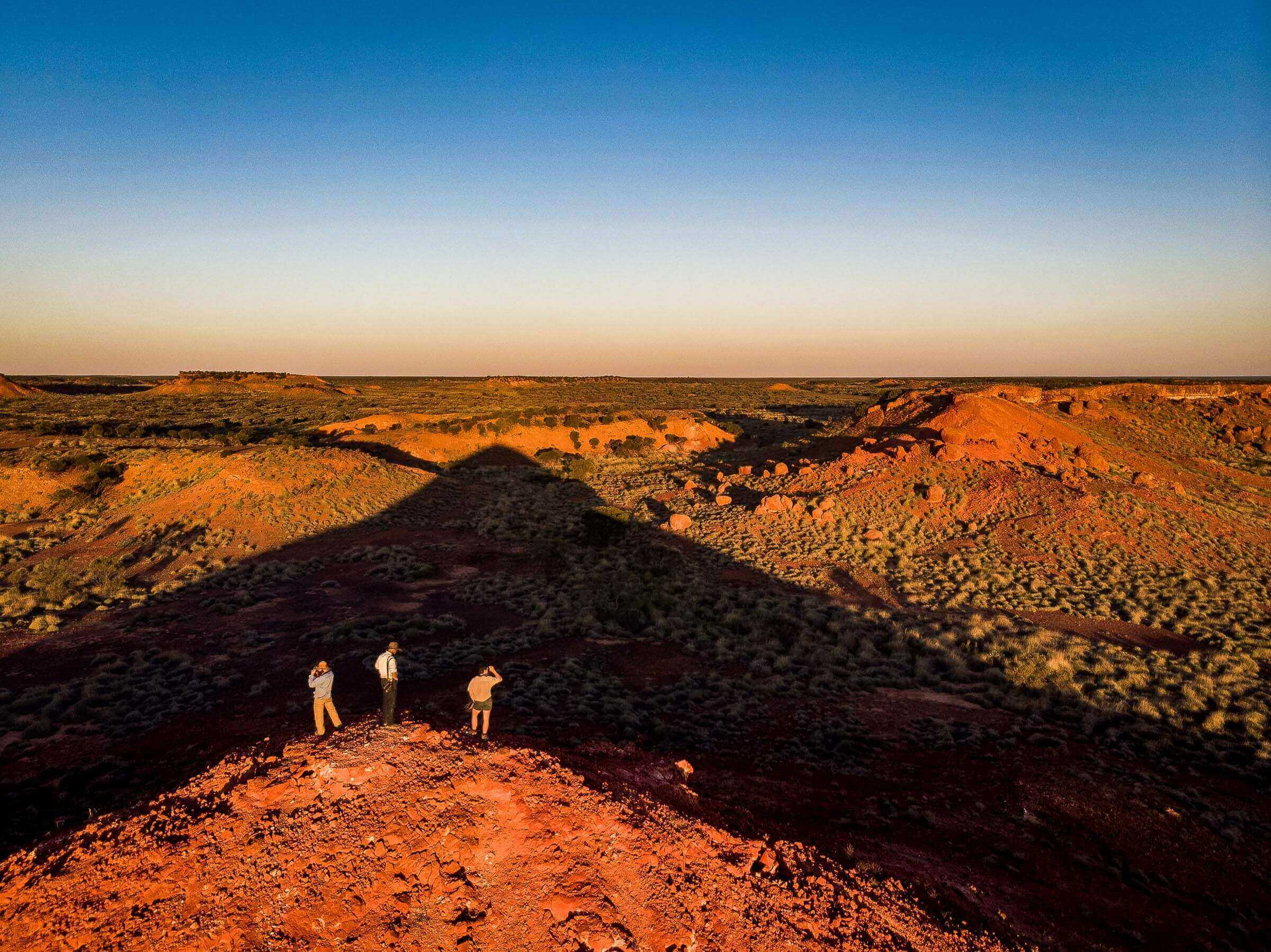 Searching for the elusive night parrot in the Pullen Pullen Night Parrot Reserve in outback Queensland