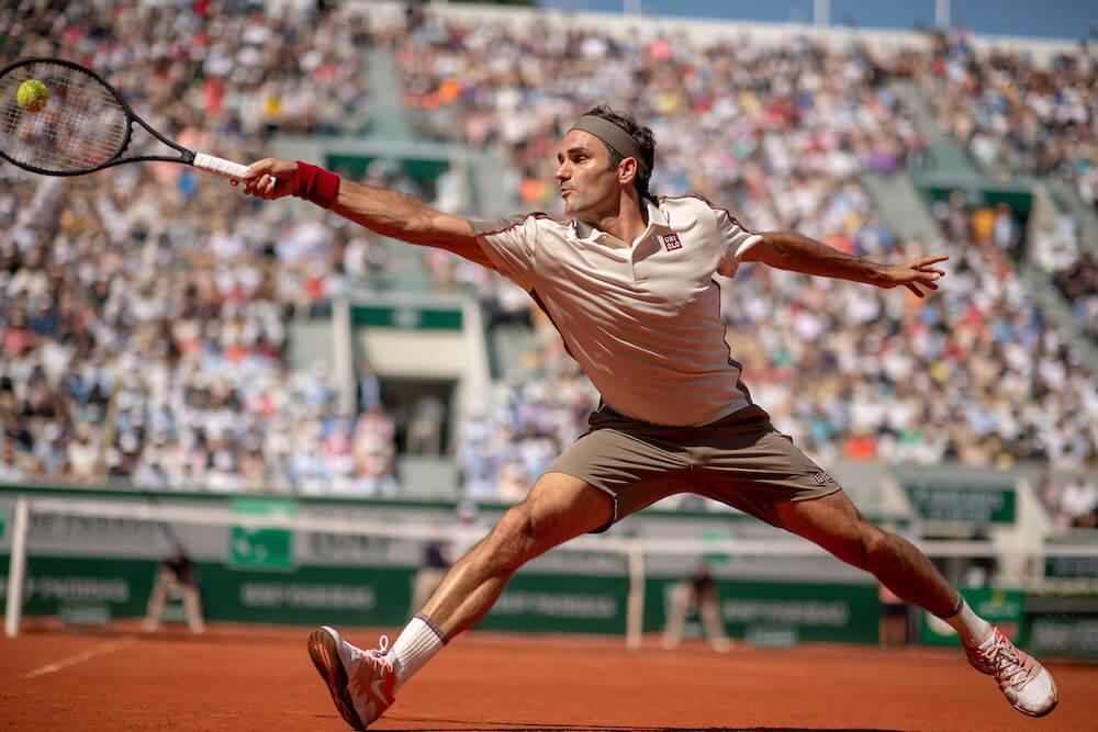 Tennis Player, photo by Tim Clayton