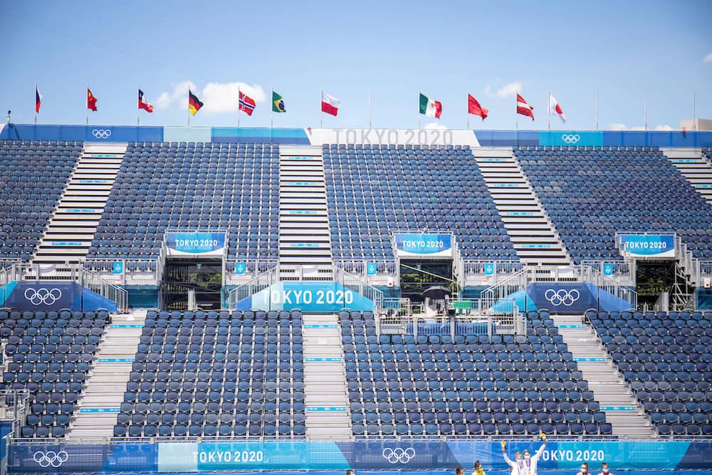 Empty Olympic Venue, photo by Tim Clayton