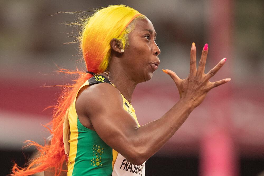 Female runner, photo by Tim Clayton