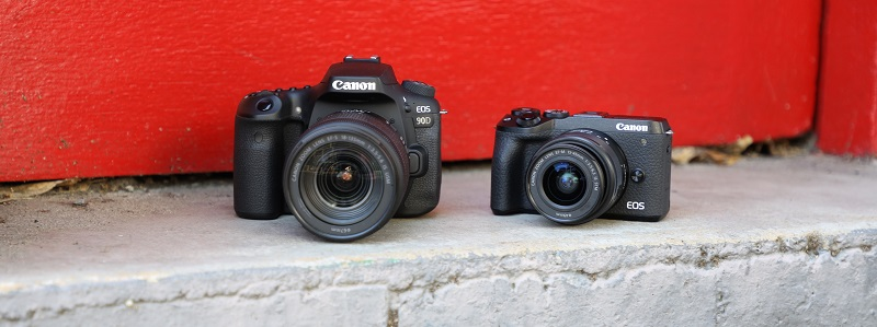 canon m6 and 90d