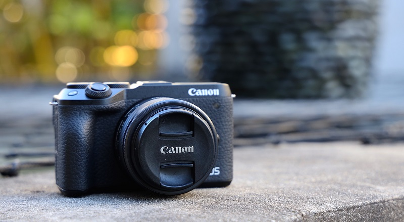 canon m6 mirrorless camera