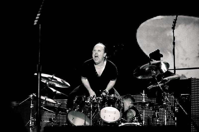Lars Ulrich of Metallica – Soundwave Festival, Brisbane, 2014