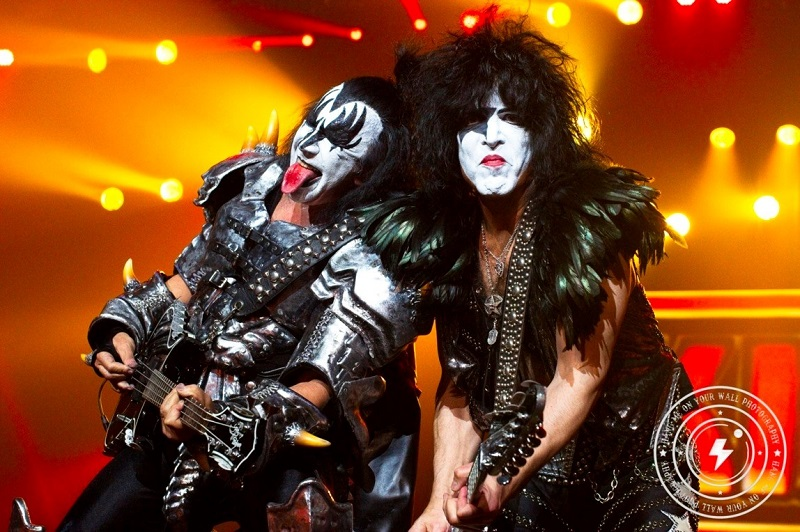 Gene Simmons and Paul Stanley of KISS – Brisbane Entertainment Centre, 2013