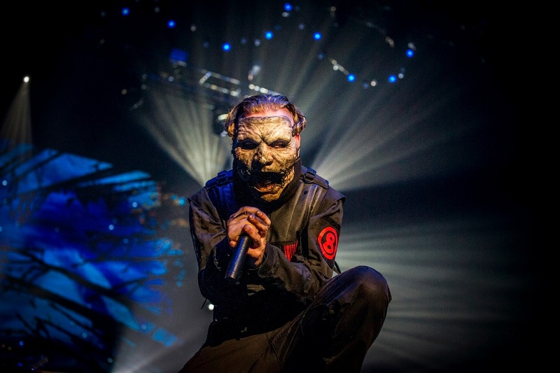 Corey Taylor of Slipknot, Brisbane, 2016