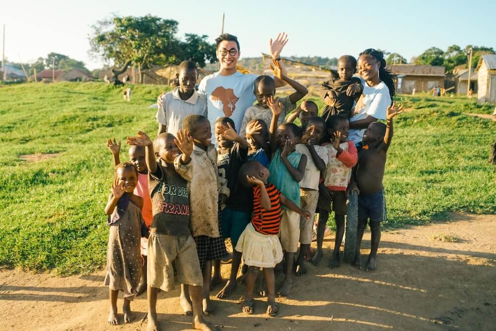Explorer's grant recipient and a community in Africa