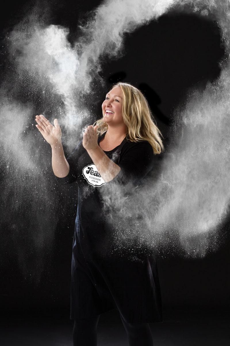 food photographer nadine show creative portrait