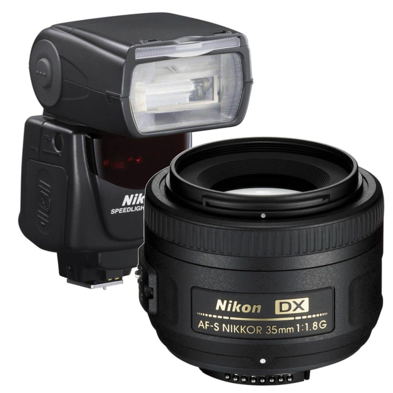 Nikon DX 35mm Lens & Flash Kit