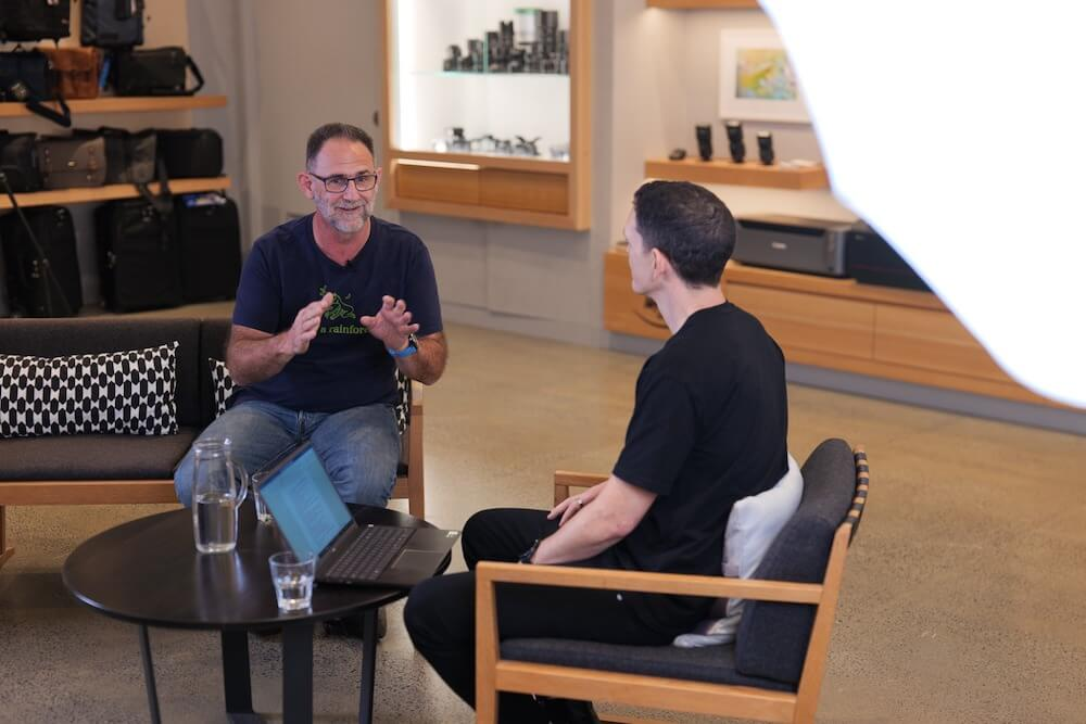 Canon Master Daren Jew and CameraPro's Phil Joshua