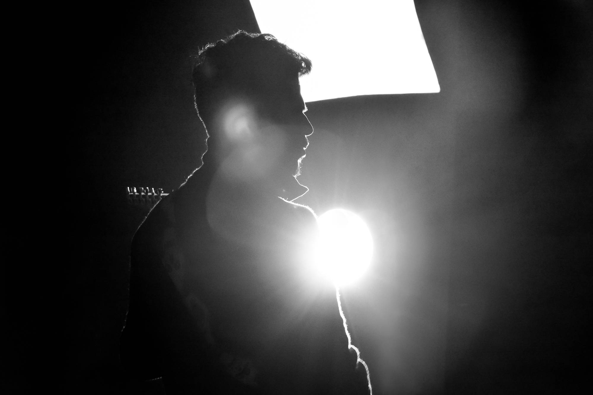 silhouette of a guy - solving common lighting issues