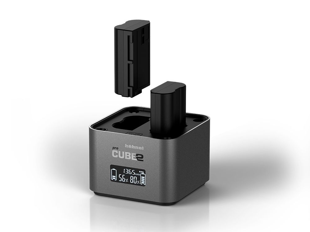hahnel cube camera battery charger