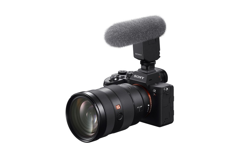 sony alpha 7r iv with sel2470gm and ecmb1m