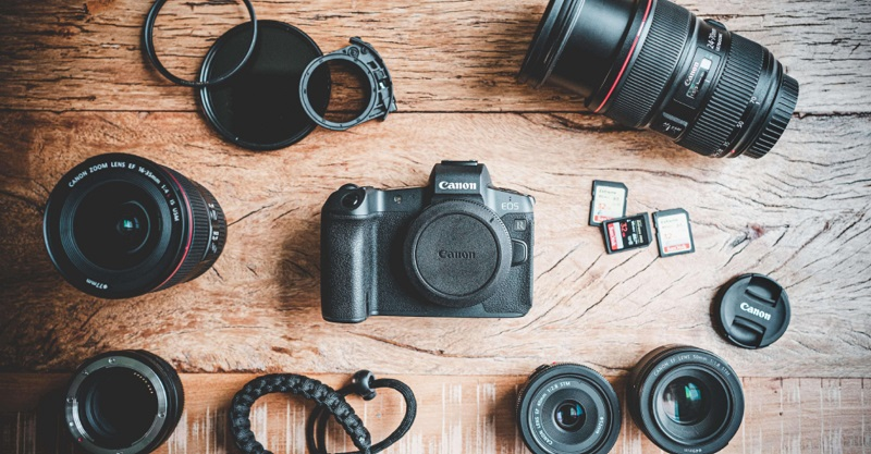 travel photography gears