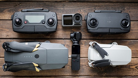 travel photography drones