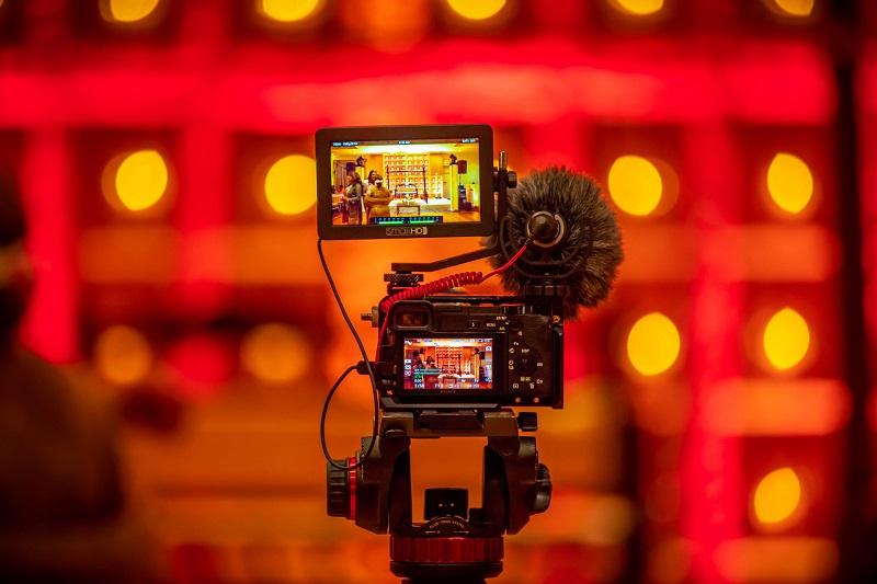 video camera set up