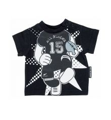 All Blacks Infants Rugby Player T Shirt