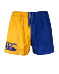 Pocket Harlequin Short Gold/Royal