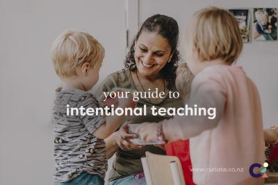 Teaching with intention.