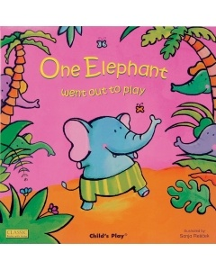 One Elephant Went Out to Play - Big Book