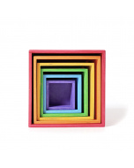 Grimm's Large Stacking Boxes - Rainbow