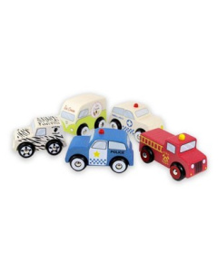 Discoveroo Essential Vehicle Set (5)