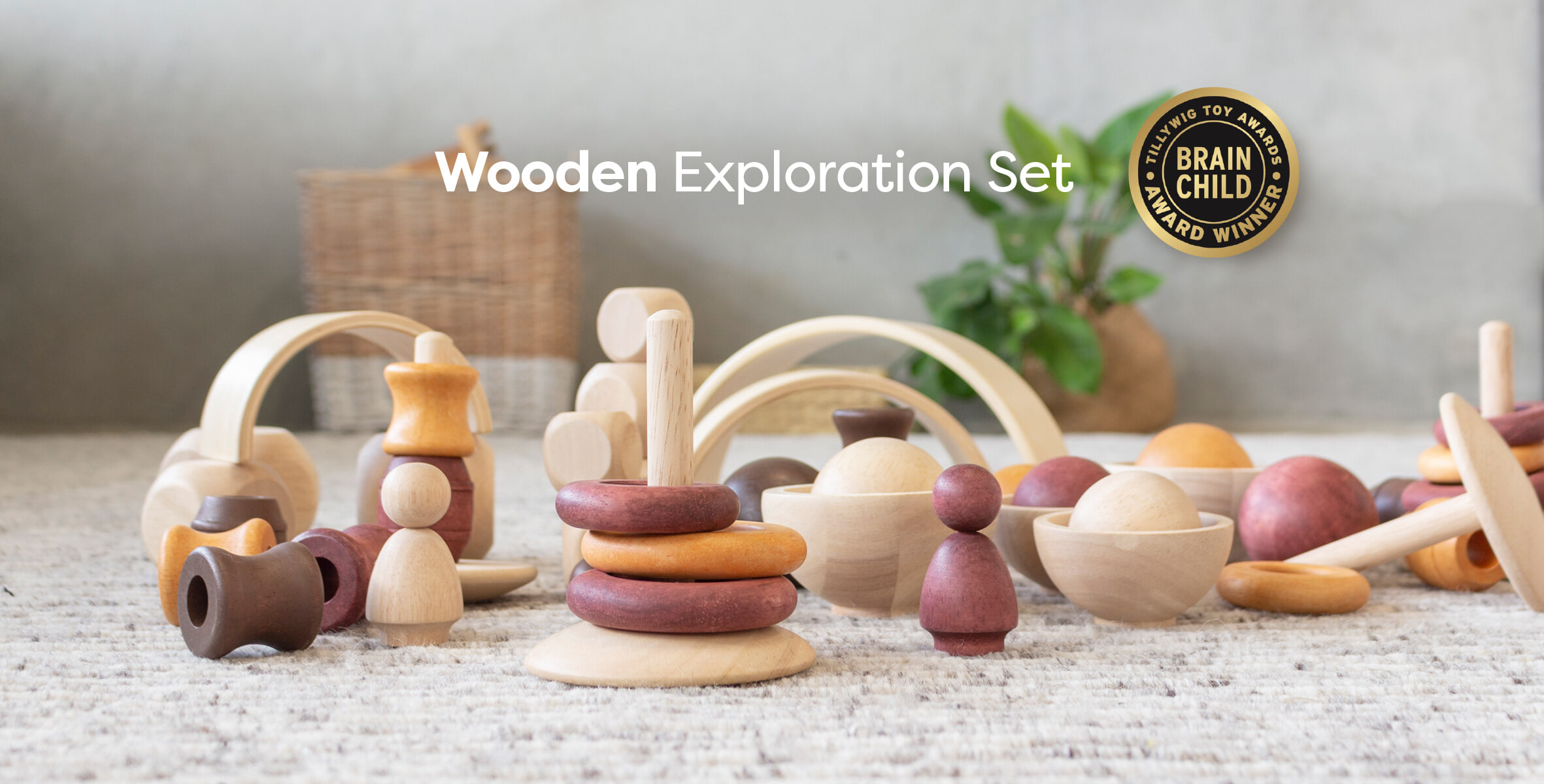 Wooden Exploration Set