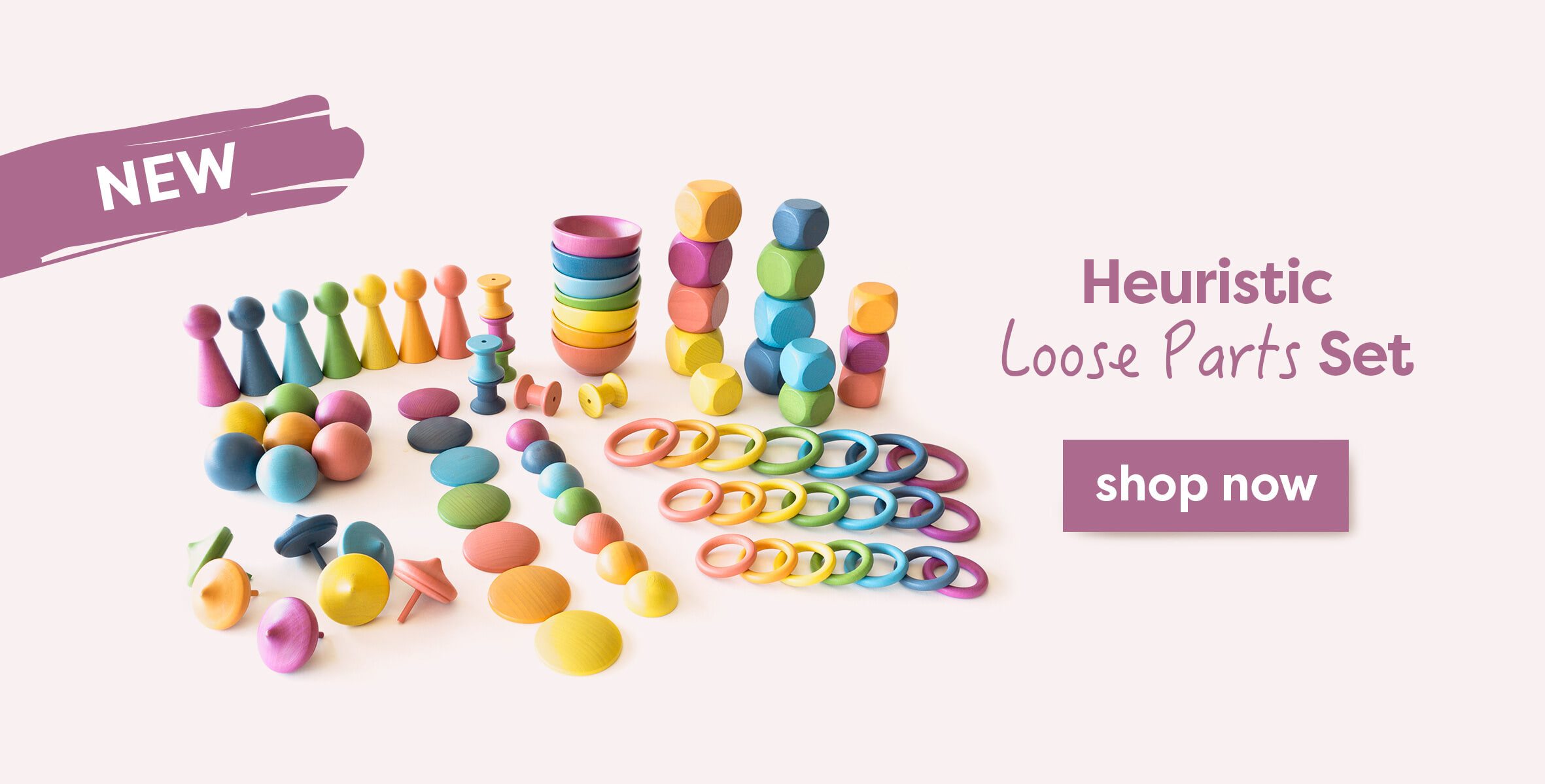 heuristic loose parts set