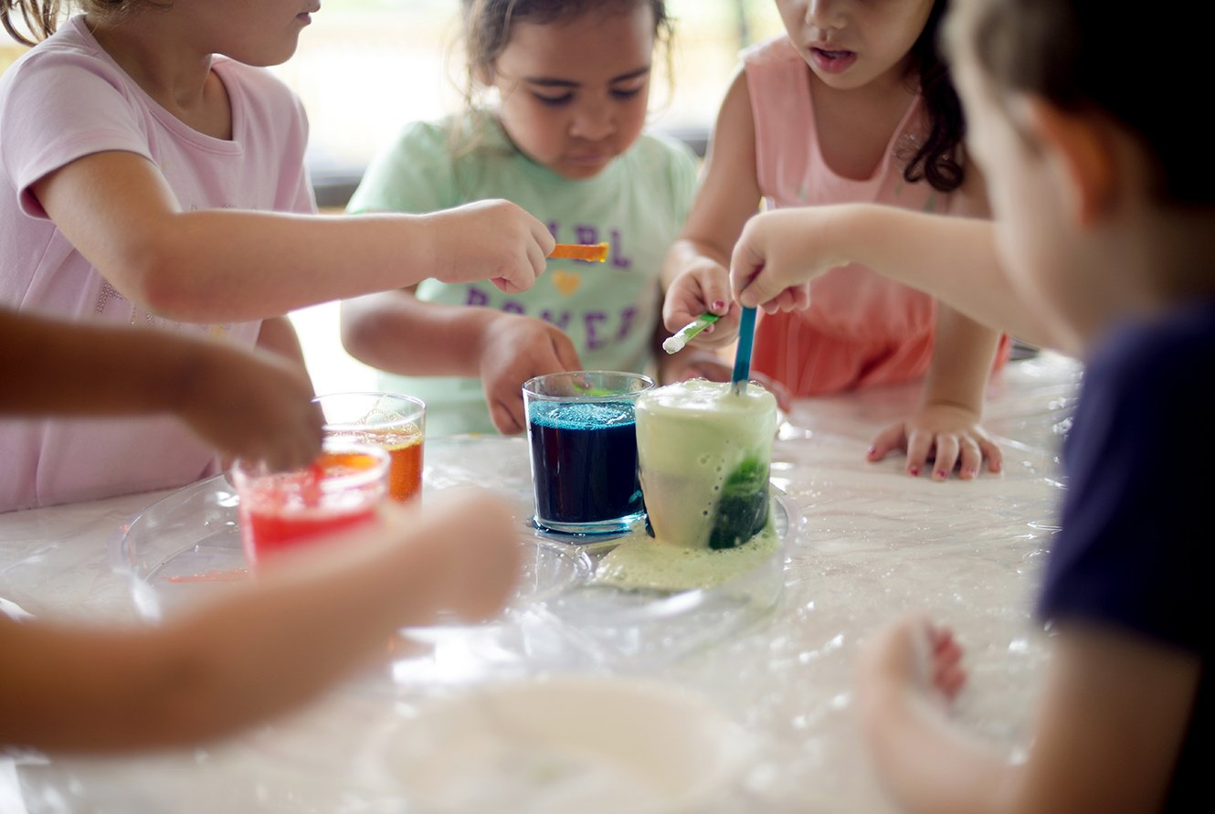 Foam Eruptions - Recipes for Messy Play