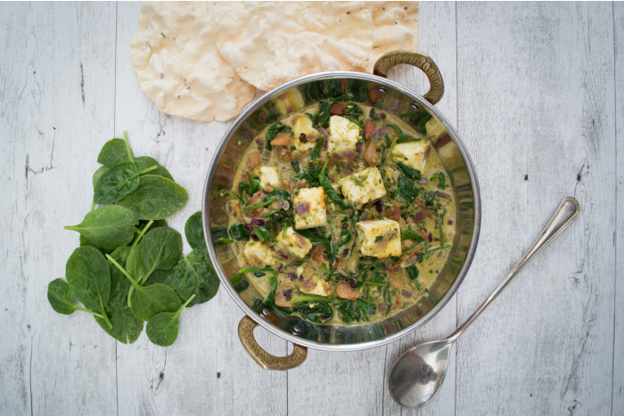 Quick & Easy Palak Paneer