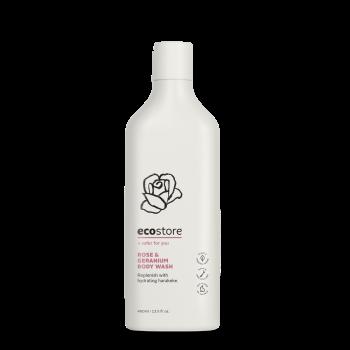 Rose & Geranium Body Wash