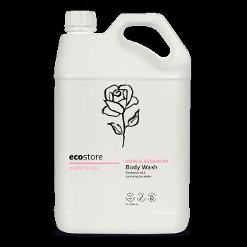 Rose & Geranium Body Wash 5L