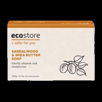 Sandalwood & Shea Butter Soap - Boxed 150g