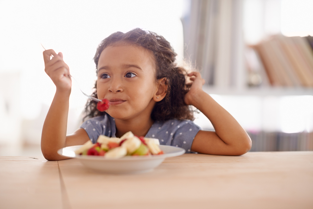Tips for mealtimes with little ones