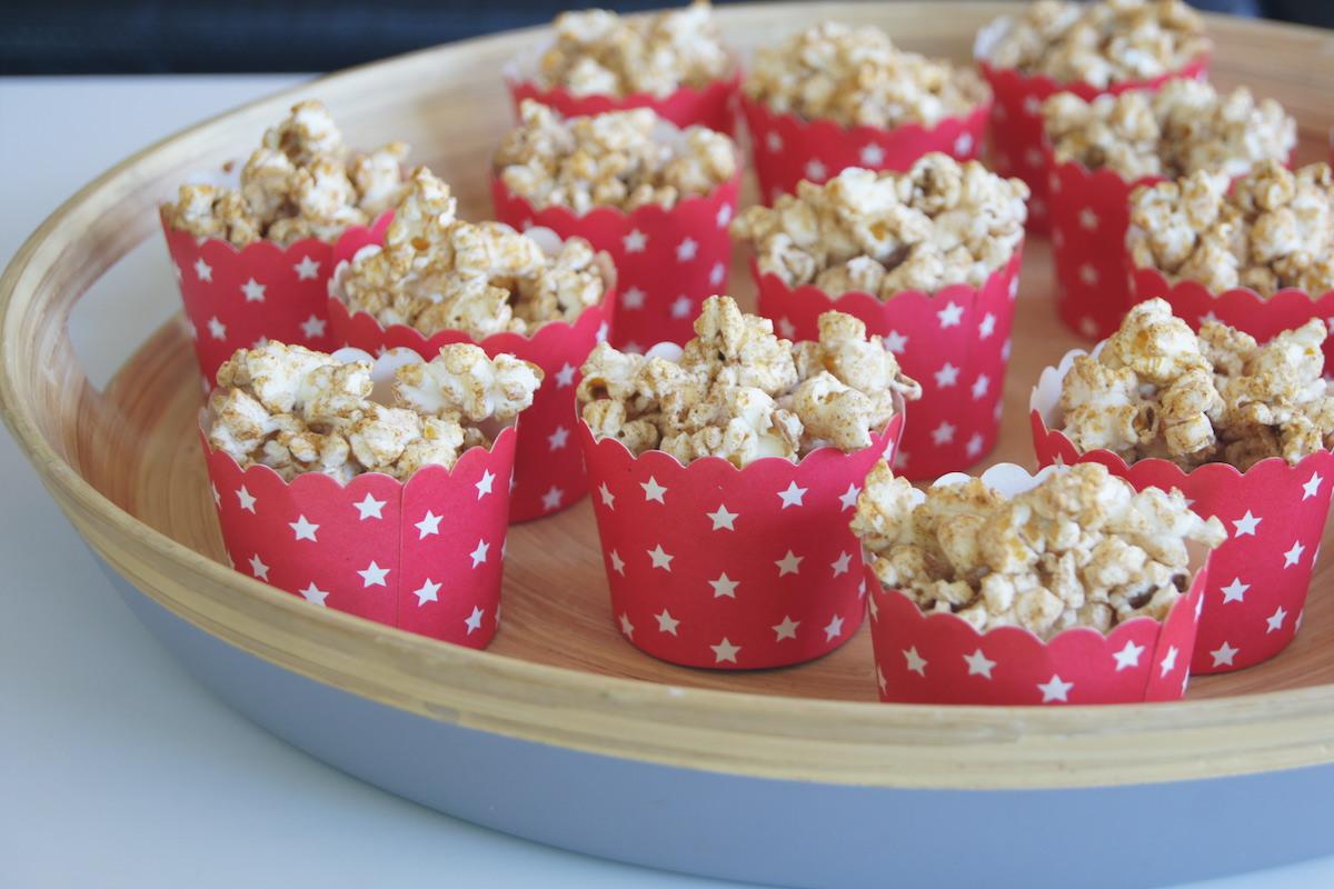 Gingerbread Popcorn