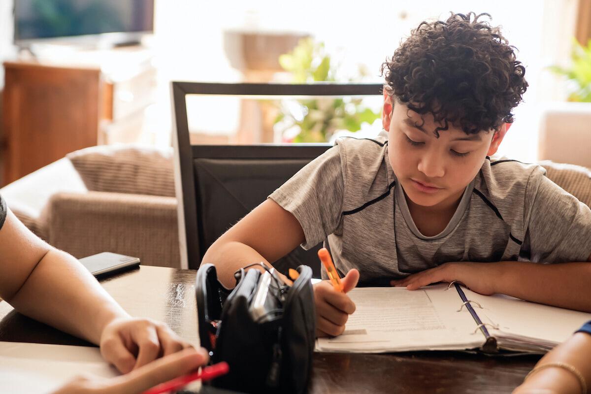 Helping kids create a good homework ethic