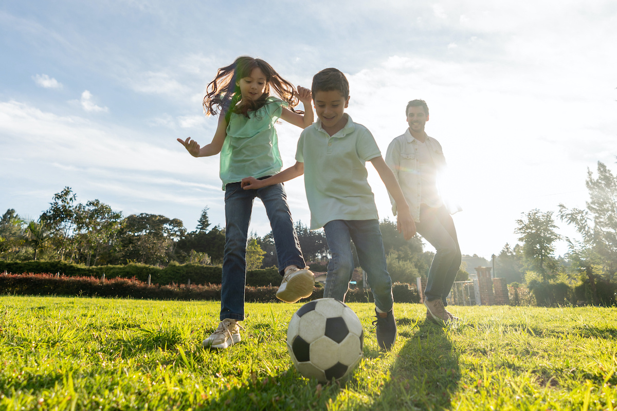 How to keep kids active during the school holidays