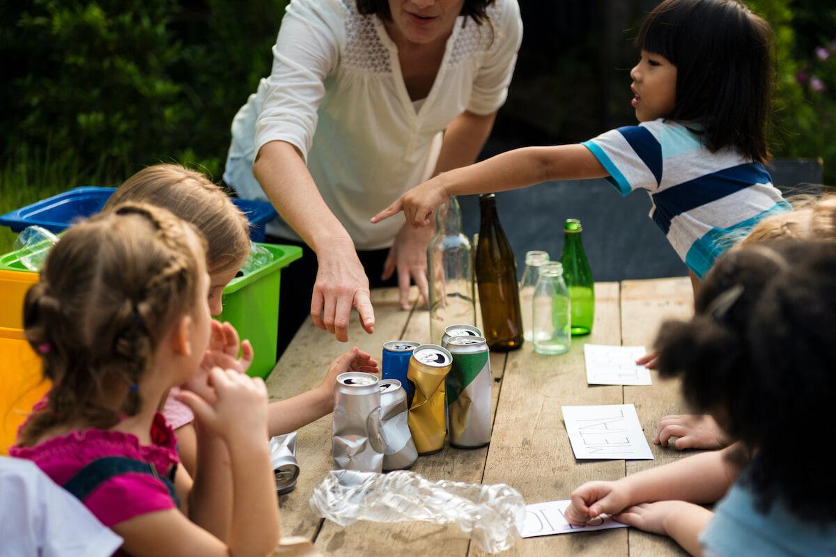 5 ways to teach kids about reducing waste