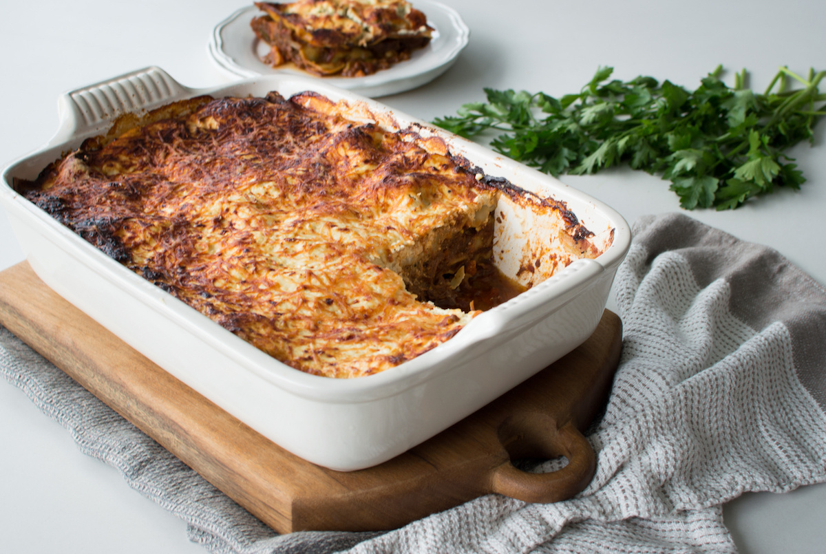 Slow Cooked Moroccan Lasagne