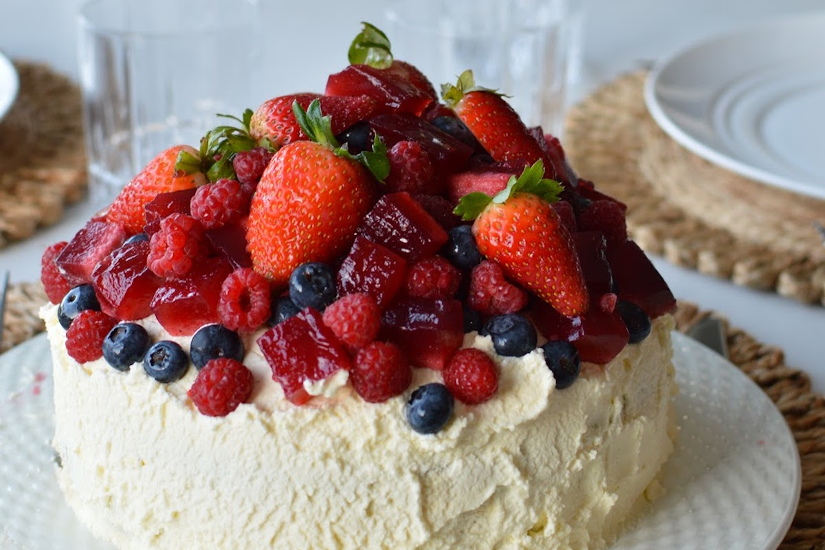 Gluten-Free Christmas Trifle Cake