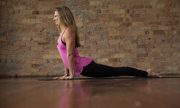 Five ways to better posture with yoga