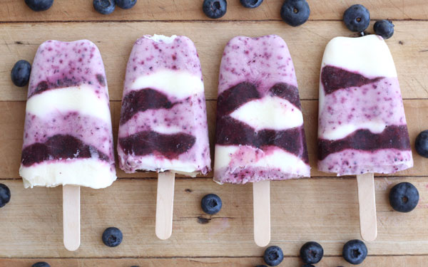 Danijela Unkovich's berry yoghurt pop recipe